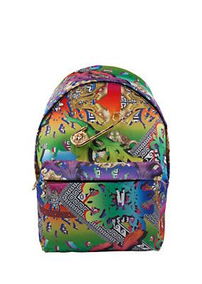 Versace - Rainbow print rucksack Only if you subtract $525