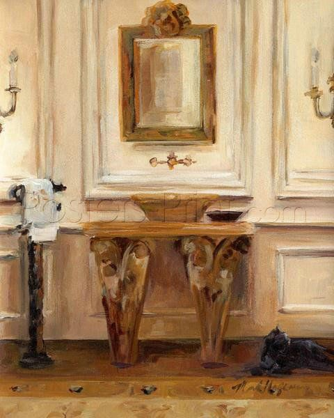 Classical Bath I Art Print Poster by Marilyn Hageman Online On Sale ...