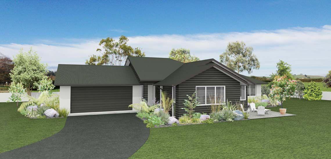 ballad 3 bedroom house design landmark homes builders nz - House Plans Landmark Homes New Zealand