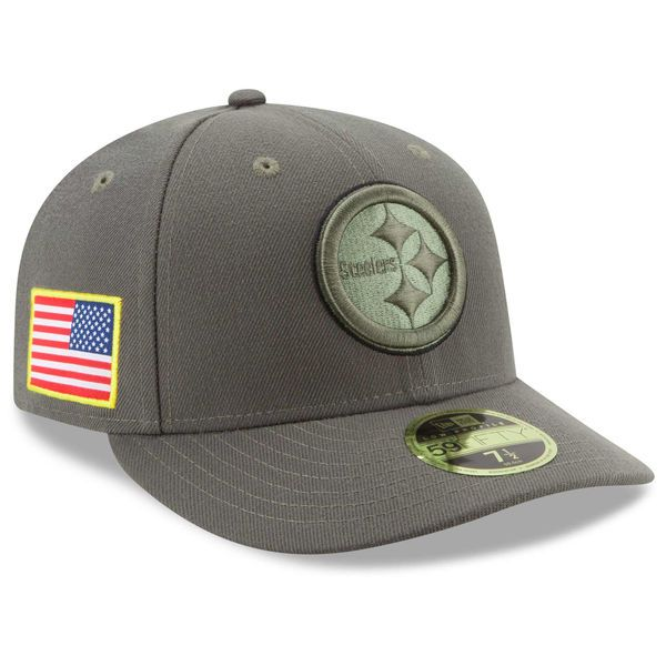online store 23b5a df367 ... fullcap 699fb c665a get new era pittsburgh steelers olive 2017 salute  to service low profile 59fifty fitted hat b3f75 ...
