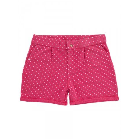 Short pants with little white pois SUN68 Woman SS15 #SUN68 #SS15 #woman #shorts