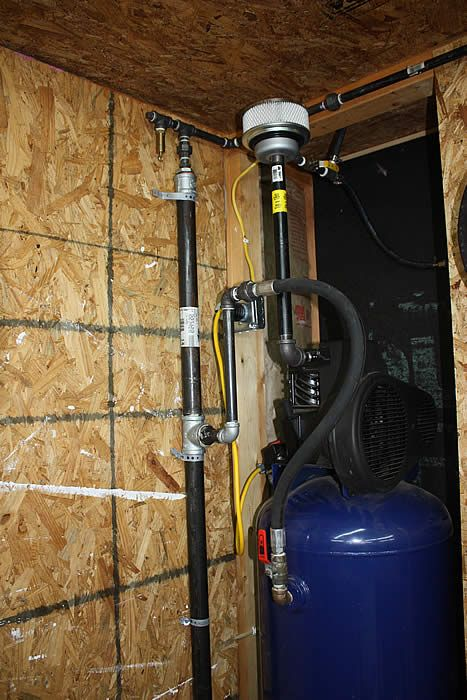 Second Blow Off Valve In The Air Line Plumbing Small Gold