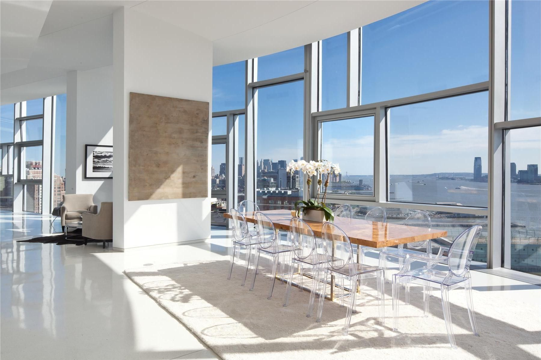 Beautiful Spectacular Penthouse In Chelsea 100 11th Avenue