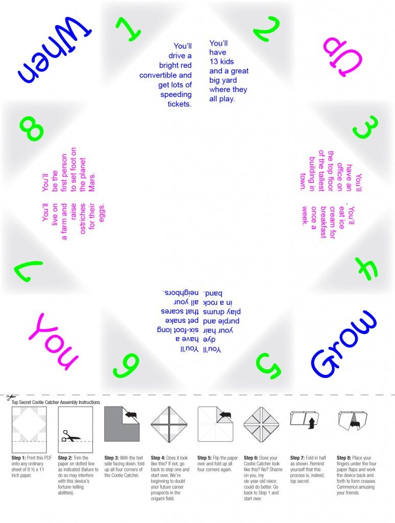 For girl scouts cootie catcher template maxwellsz