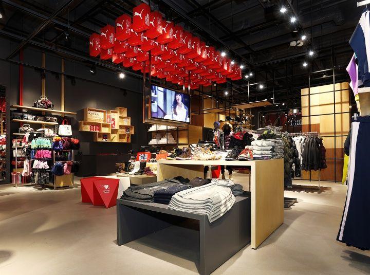 Puma premium store by Plajer & Franz Studio, Osaka Japan ...