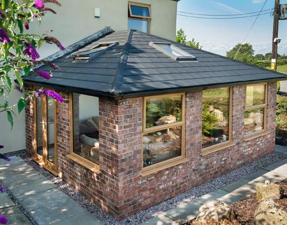 Make Your Existing Conservatory Feel Brand New Again By Upgrading To Modern Glazing Or Replacing The Garden Room Extensions Garden Room House Extension Design