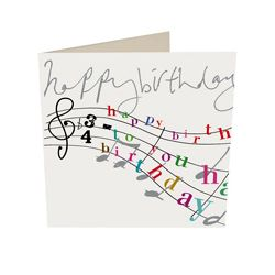 Birthday card caroline gardner happy birthday music score diy birthday card caroline gardner happy birthday music score bookmarktalkfo Choice Image