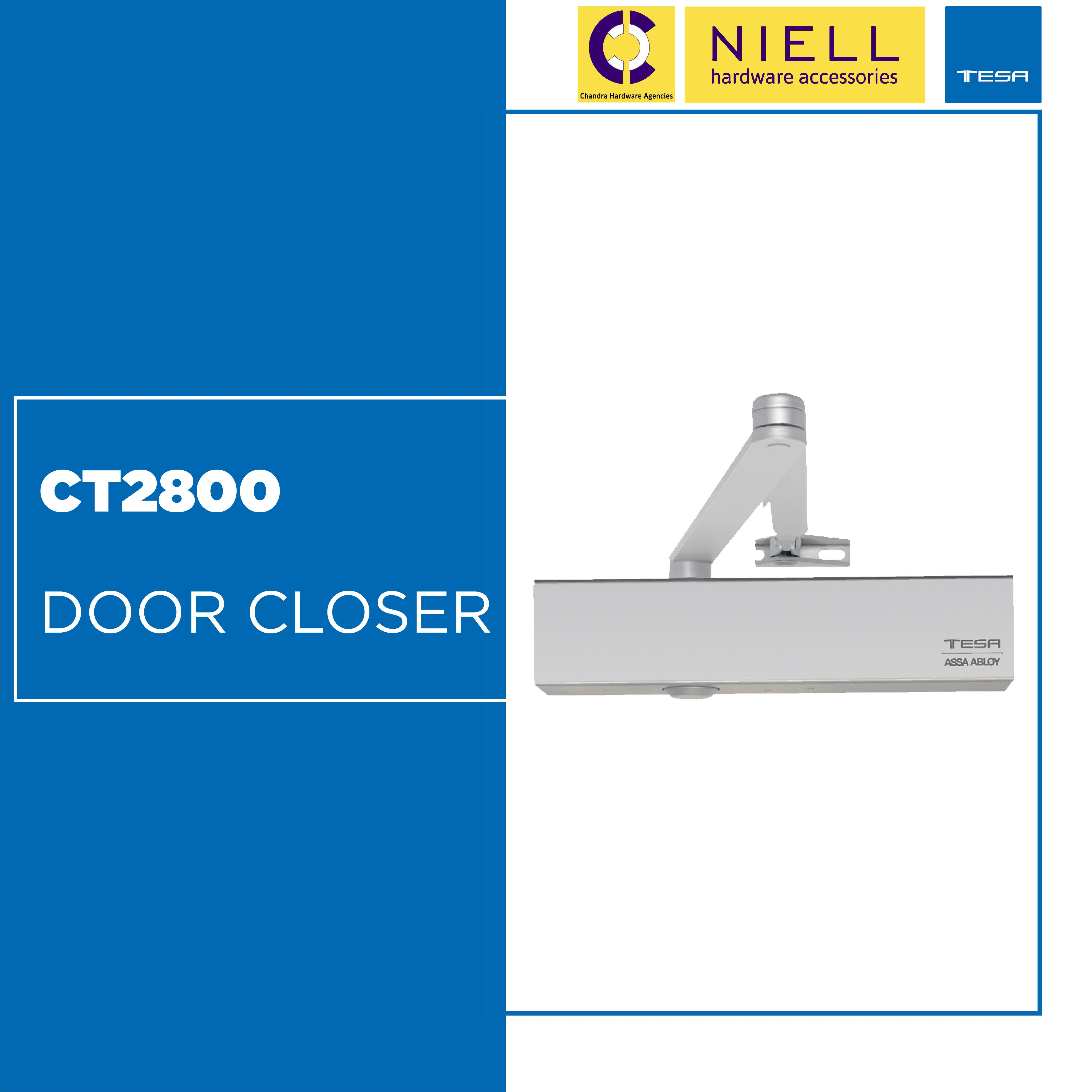 The Range Of Door Closers From Tesa Assa Abloy Contemplates Solutions For The Controlled Closure Of Any Type Of Door Whether Types Of Doors Door Closers Doors