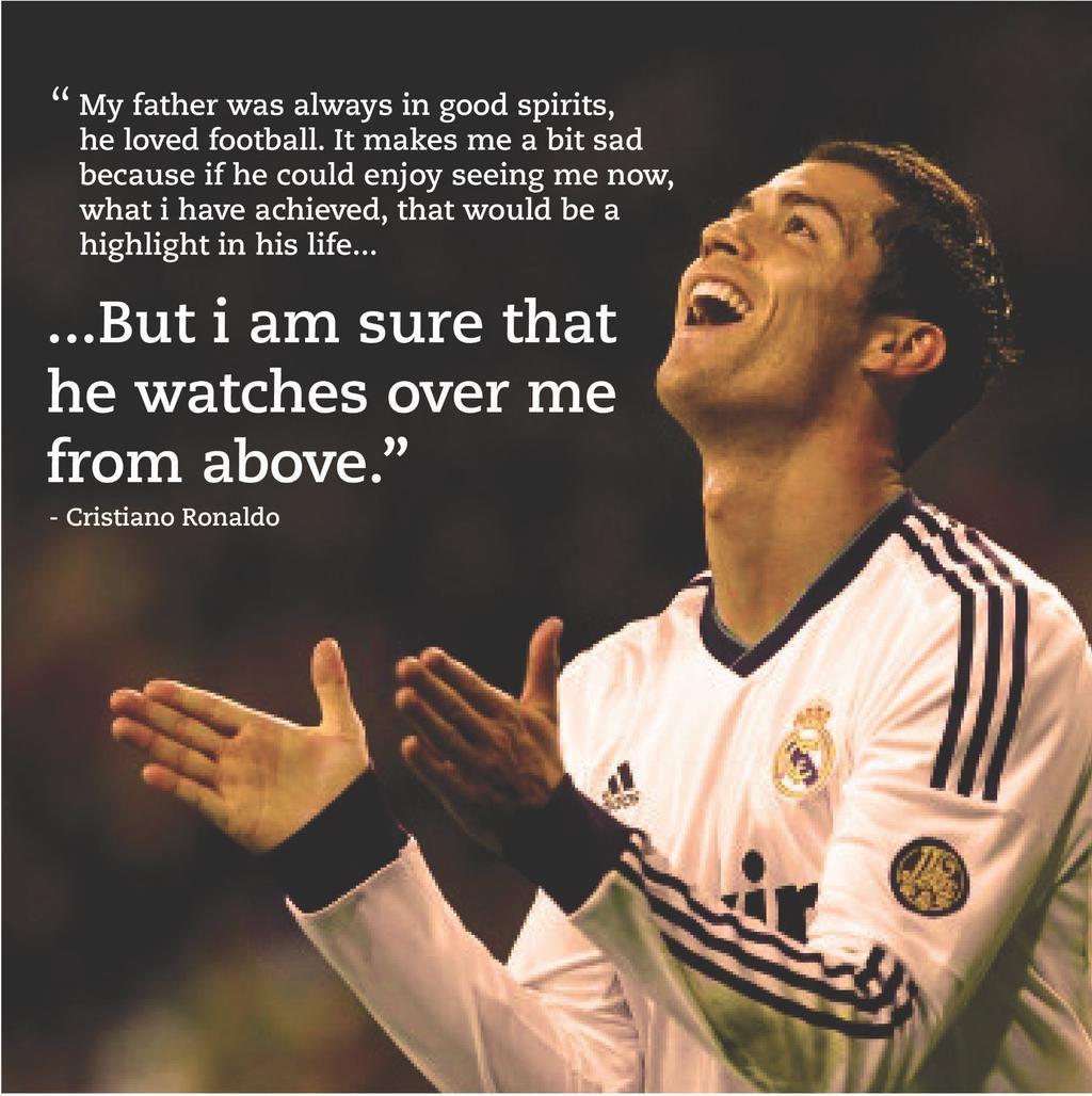 Ronaldo Portuguese Football Player Poster Sport Star Photo Motivation Quote