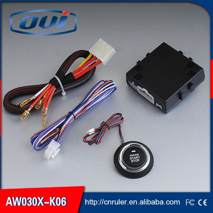 High quality remote starter push button go ignition switch
