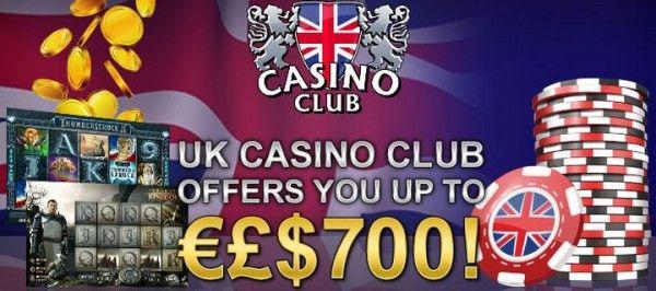 700€ Gratis Casino Bonus Im Uk Casino Club Spielcasino