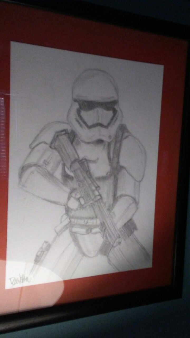 First Order Stormtrooper - by Debbie Melton 2015