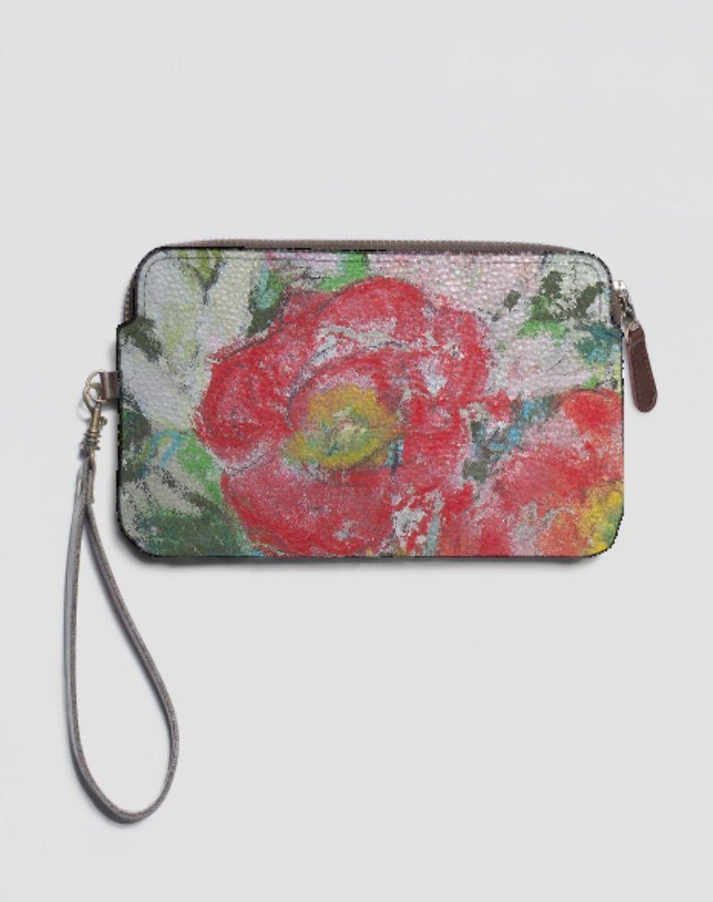 VIDA Statement Bag - Butterfly on Pink Zinna by VIDA zqkIEwY