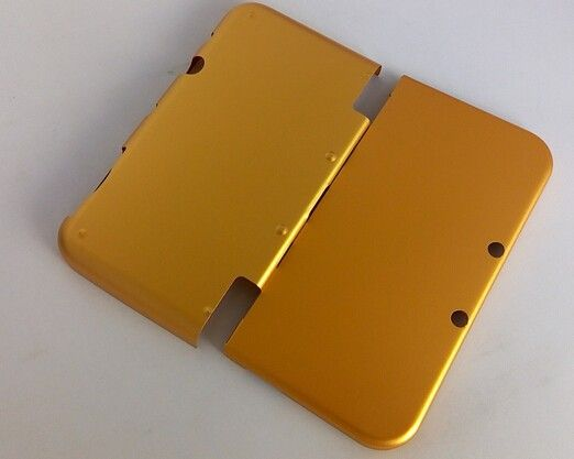 >> Click to Buy << goden yellow gold Aluminimum Hard Shell Case Protective Skin Cover For New Nintendo 3DS XL LL aluminimum shell gold yellow color #Affiliate