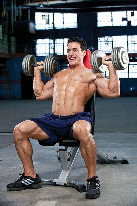 No Gym No Sweat With Just A Bench And Some Dumbbells You Can Combine These 7 Moves For A Fierce Dumbbell Workout Upper Body Dumbbell Workout Dumbell Workout