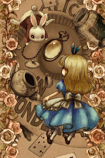 Alice In Wonderland Disney Pinterest Alice Wallpaper And