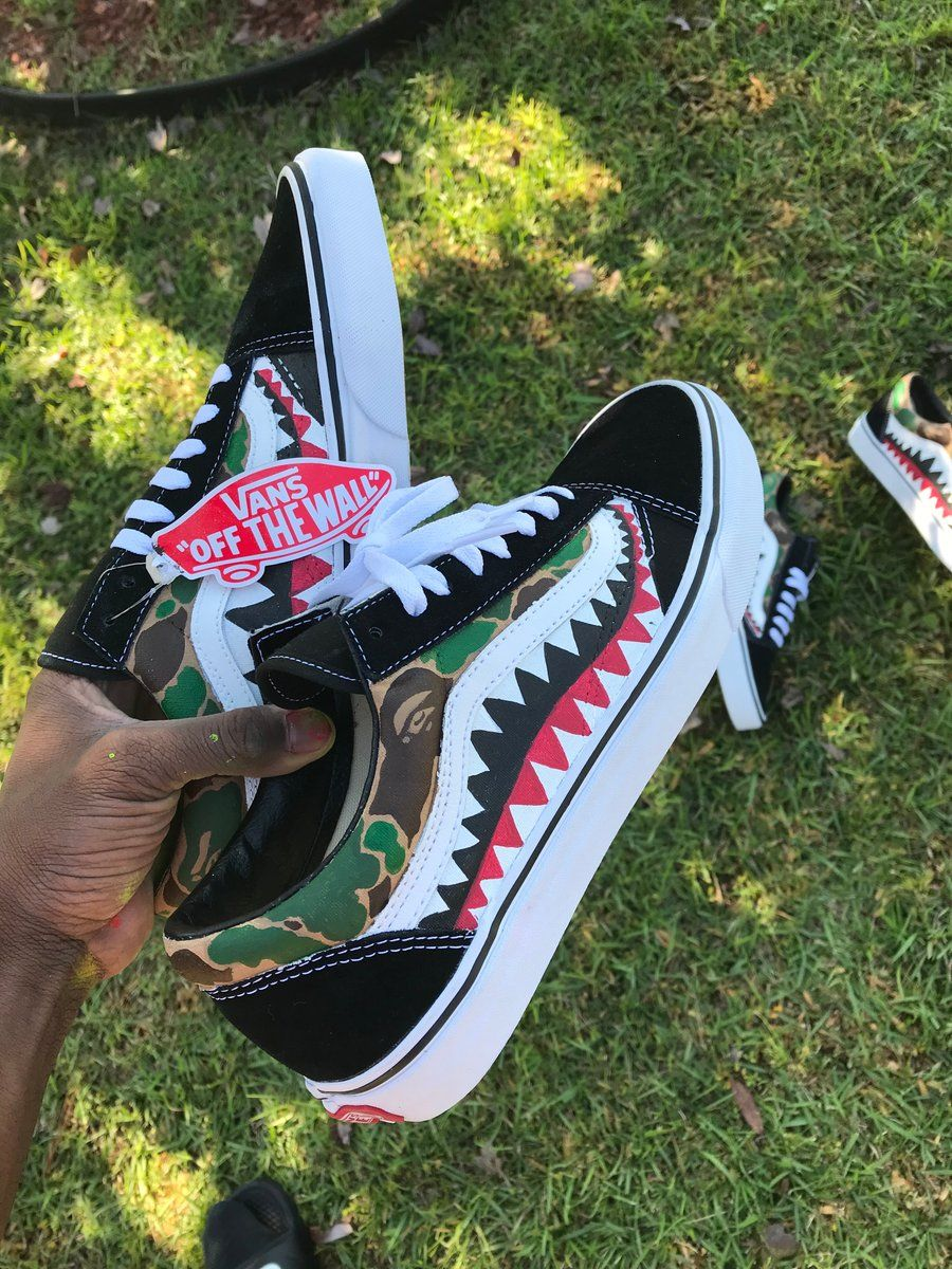 Bape vans orders can take 12 weeks if you would like your