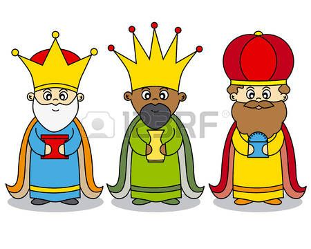 Resultado De Imagen De Tres Reyes Magos Caricatura Tres Reyes Magos Magos De Oriente Rey