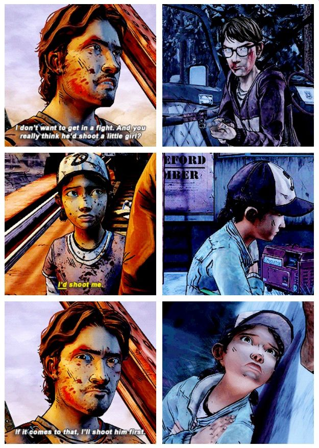 Where Are You Luke It Hurts To Know That He Wasn T There For Clem When This Happened Via The Walking Dead Telltale Walking Dead Gif Walking Dead Game