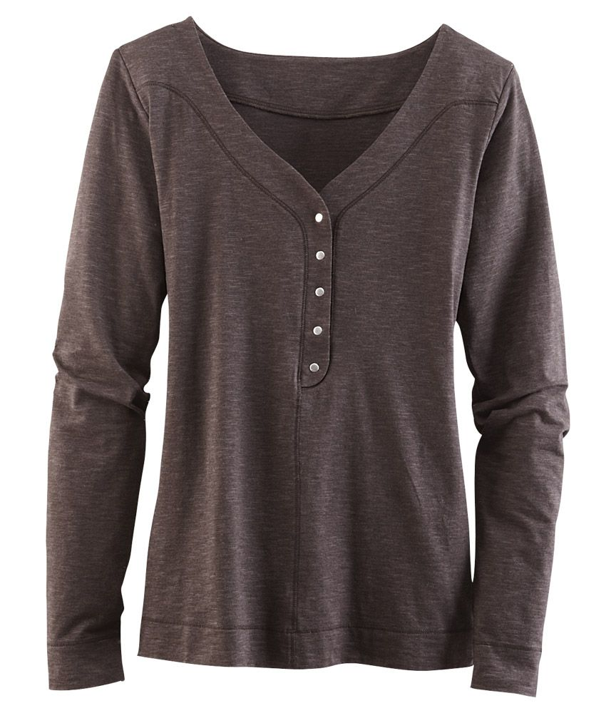 Samba Snap Henley - Long Sleeve Tops - Tops - Title Nine