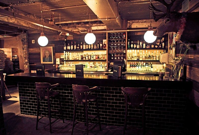 10 Secret Cocktail Bars In London London Bars Secret Bar Underground Bar