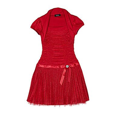 Jcp By Amp By Girl Shirred Dress And Shrug Girls 7 16 And