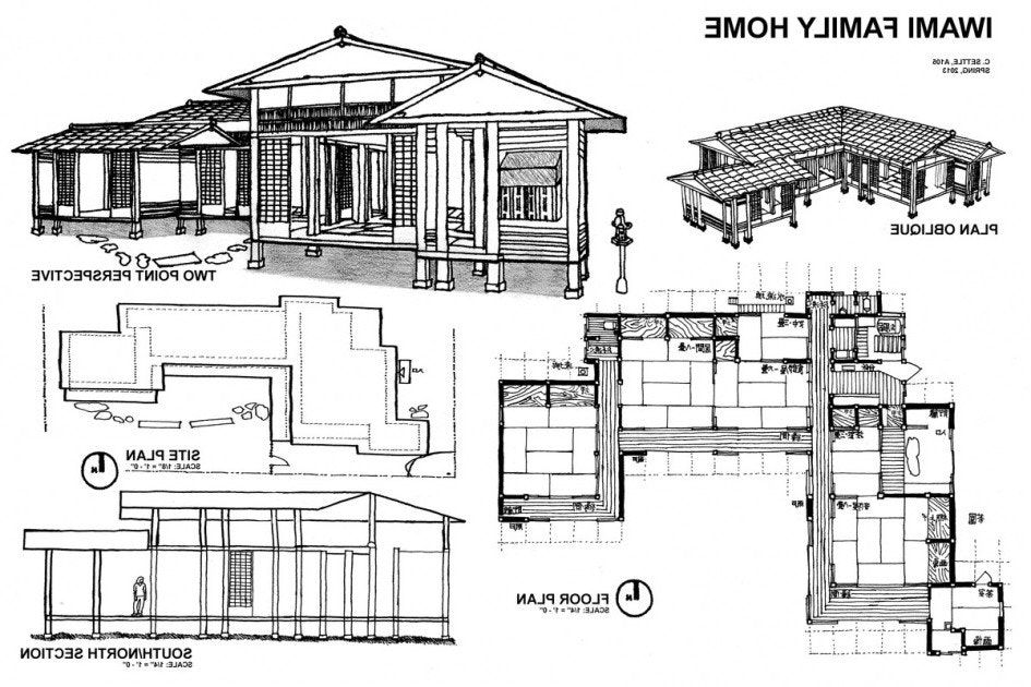 Amusing Japanese Tea House Plans Ideas Best Idea Home Design Traditional Japanese House Japanese House Modern House Floor Plans