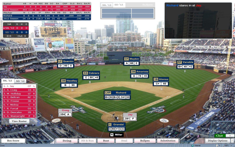 Dynasty league baseball online baseball simulation from