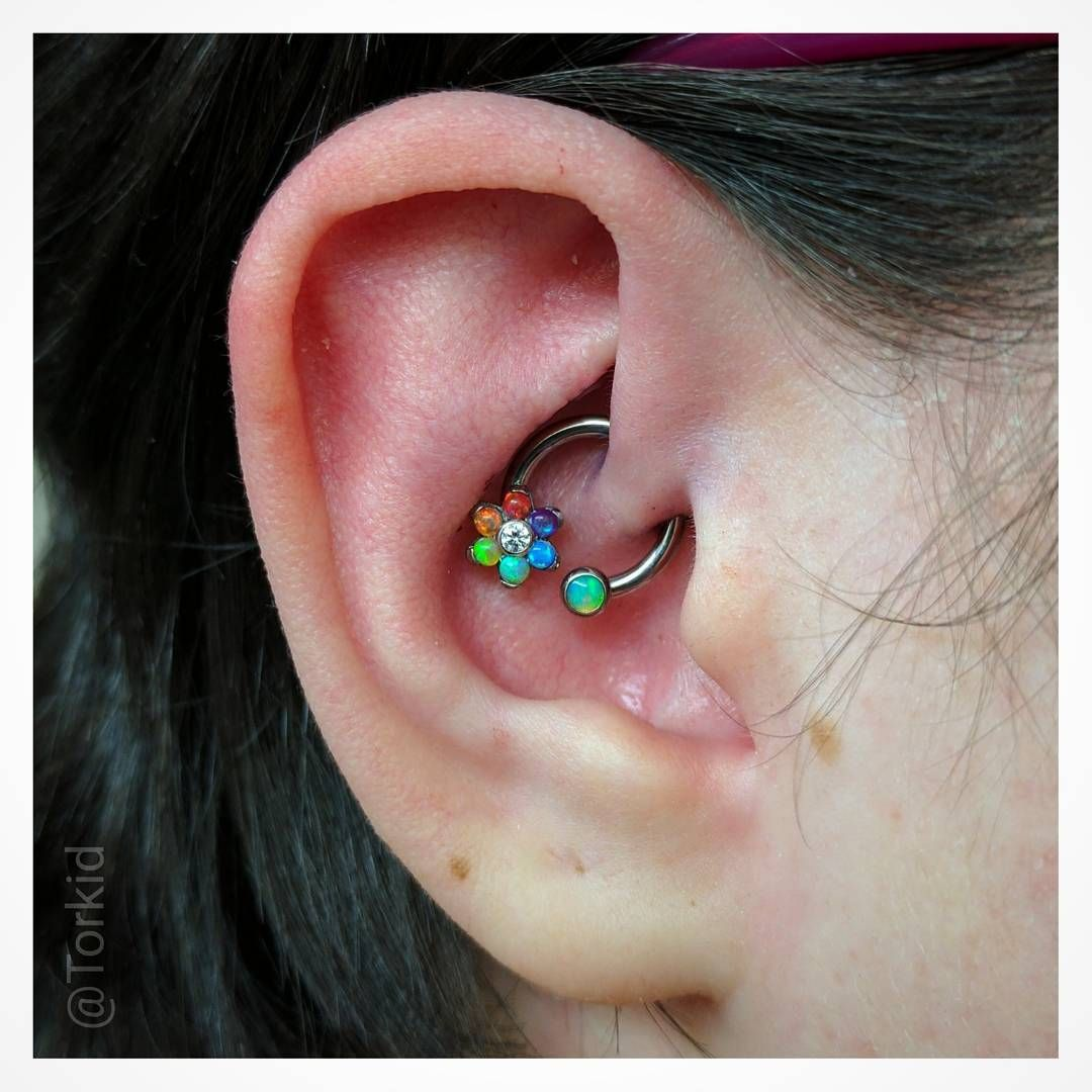 Pear piercing ideas   Gorgeous Examples Of The Daith Piercing That Will Make You Want
