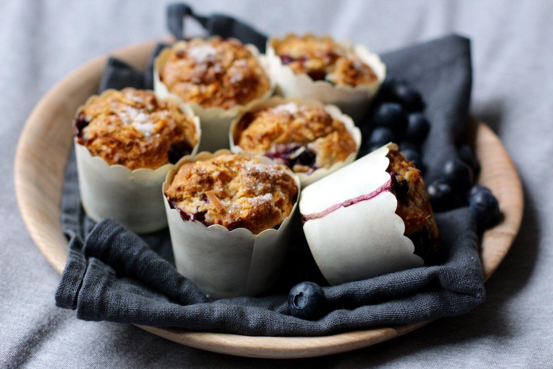 Vegane Heidelbeer Kokos Muffins — THE FRANK BLOG