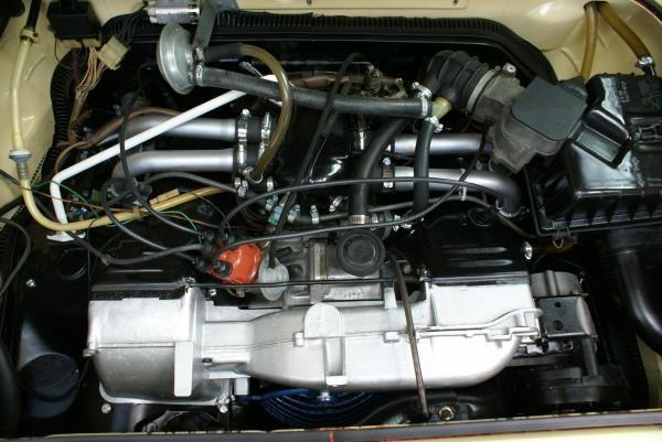 Complete rebuild 2 0L air-cooled type 4 Volkswagen Vanagon