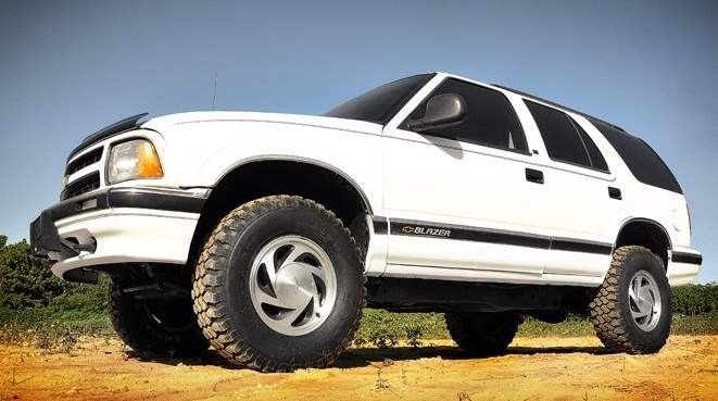 1982 04 4wd Chevy S10 Pickup Blazer Gmc S15 Pickup Jimmy 2 5 Lift Kit N2 0 Nitro Shocks Chevy Chevy S10 Lift Kits