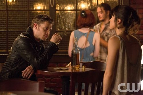 "The Originals -- ""House of the Rising Son"" -- Pictured (L-R): Joseph Morgan as Klaus and Daniella Pineda as Sophie -- Image Number: OR101a_0090.jpg -- Photo: Bob Mahoney/The CW -- © 2013 The CW Network, LLC. All rights reserved."