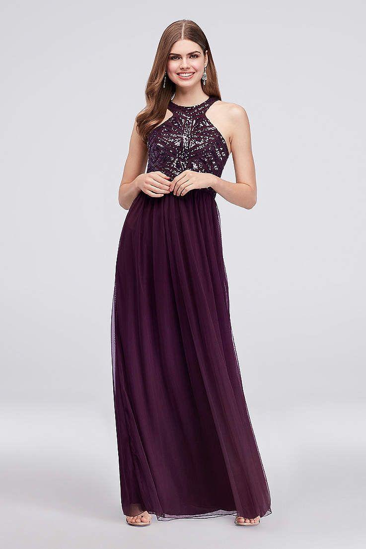 0d3a32638f Long A-Line Halter Formal Dresses Dress - Speechless   Wedding ...