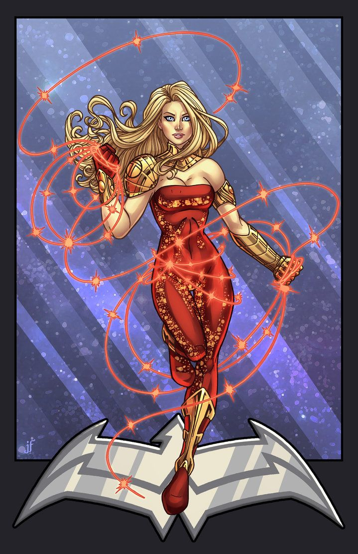 Wonder Girl | Lineart by Jamie Fay | Color by Danielle St Pierre