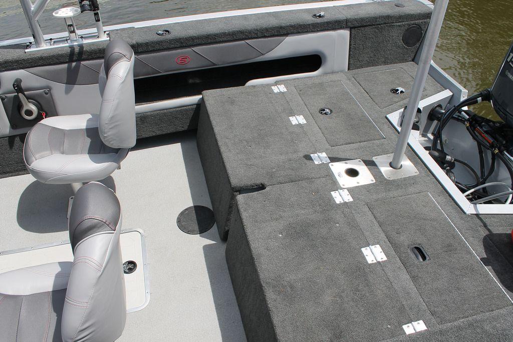 Pro Angler 182 XL rear casting deck | Smoker Craft fishing