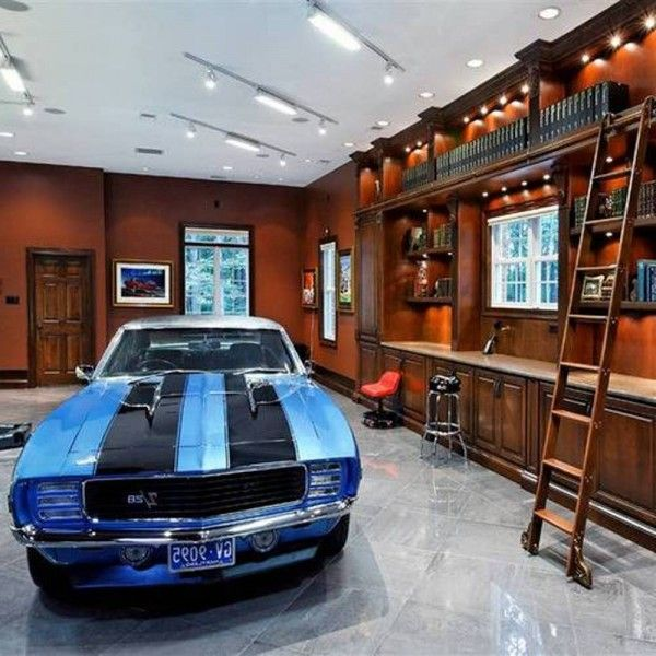 Home Garage Design Ideas: Awesome Garage Designs