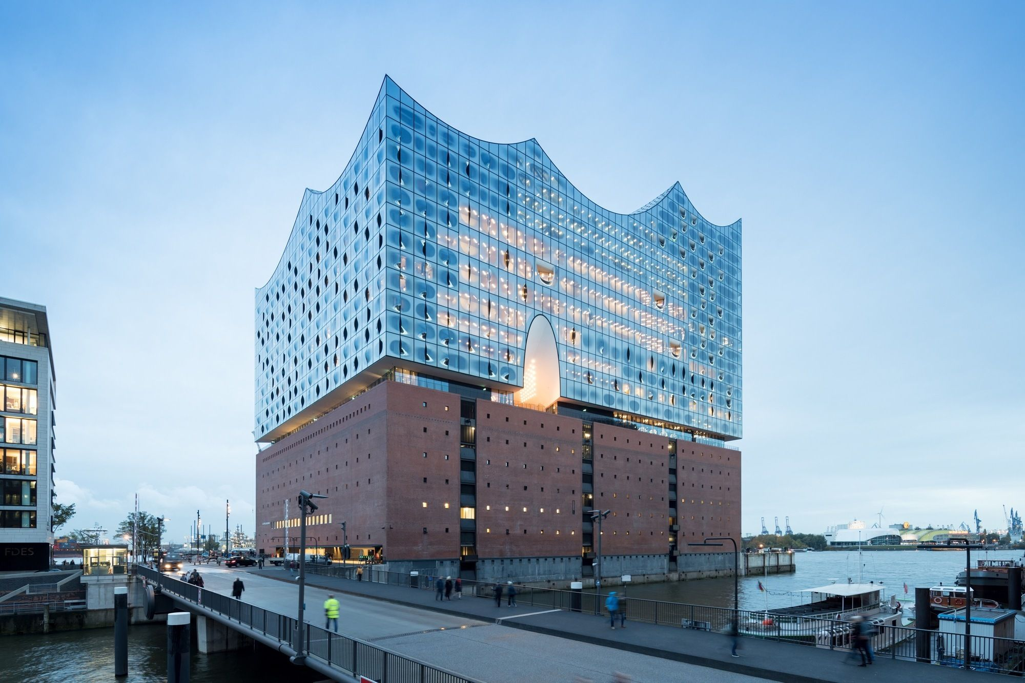 Elbphilharmonie Hamburg Herzog De Meuron Architecten Architectuur Hamburg