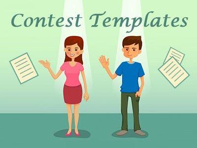 free contest templates