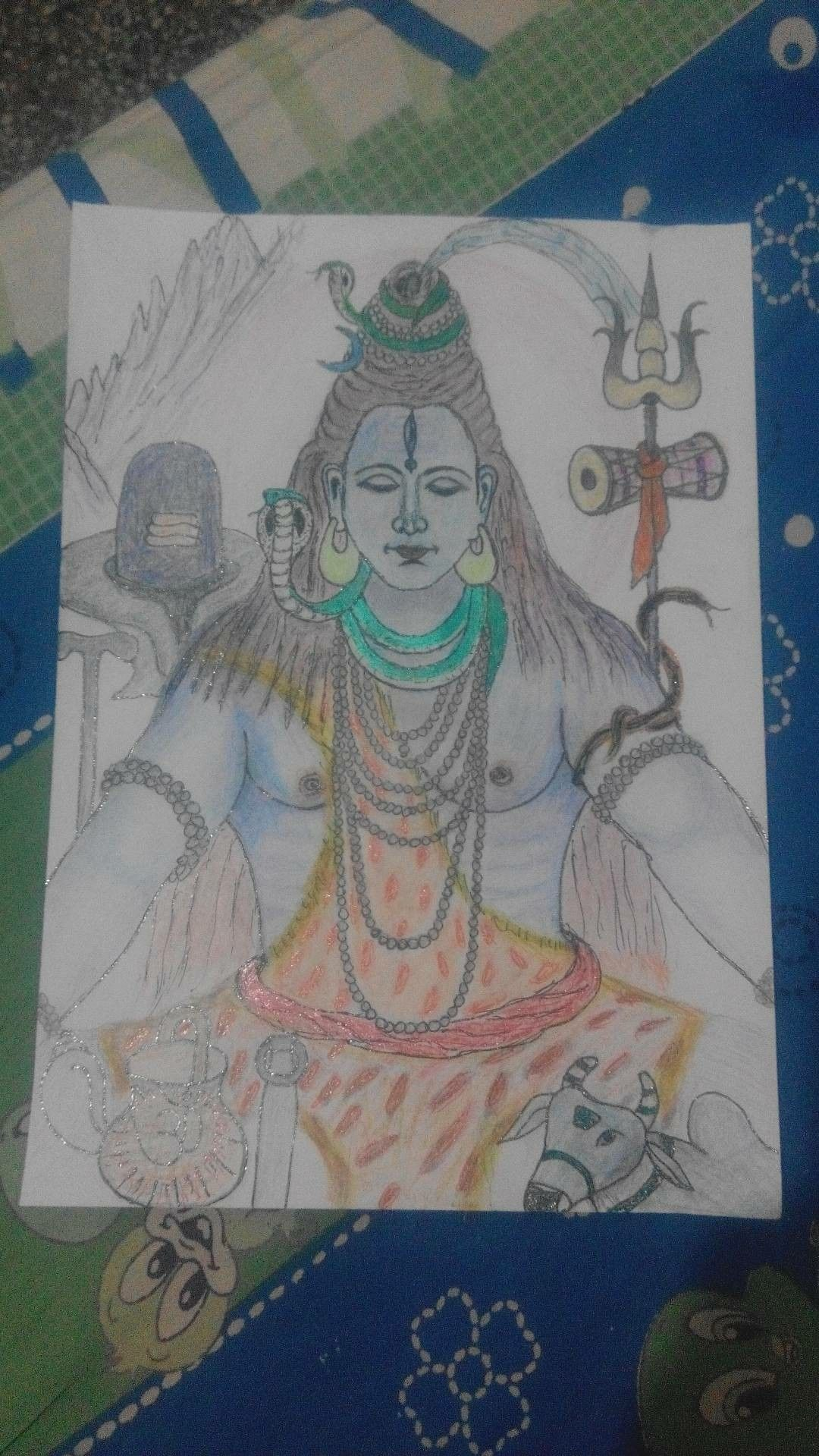 Mahadev colour pencil