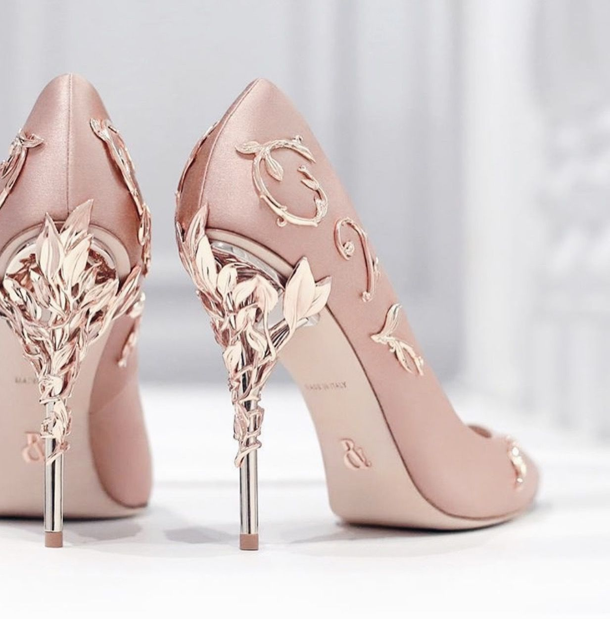 Ralph and Russo Eden Pumps - For All Shoe Lovers! | Neutral / Pastel ...