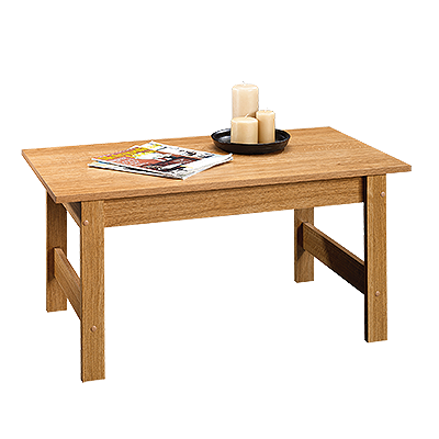 Sauder Beginnings 414292 Coffee Table Highland Oak Living Room Coffee Table Coffee Table