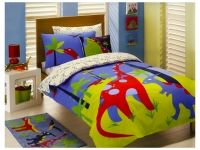 Transform your child's bedroom with our Dinosaur Bedding and bed linen featuring quilt, doona and duvet cover sets, comforters, sheets and Dinosaur kids bedding sets.