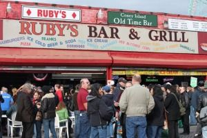 Hit Rubys On Coney Island For Some Beers To Ease The Walkin With Images Coney Island Cool Bars New York Travel