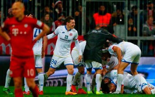 ¡Sorpresa! Bayern Múnich perdió en casa ante el Mainz 05