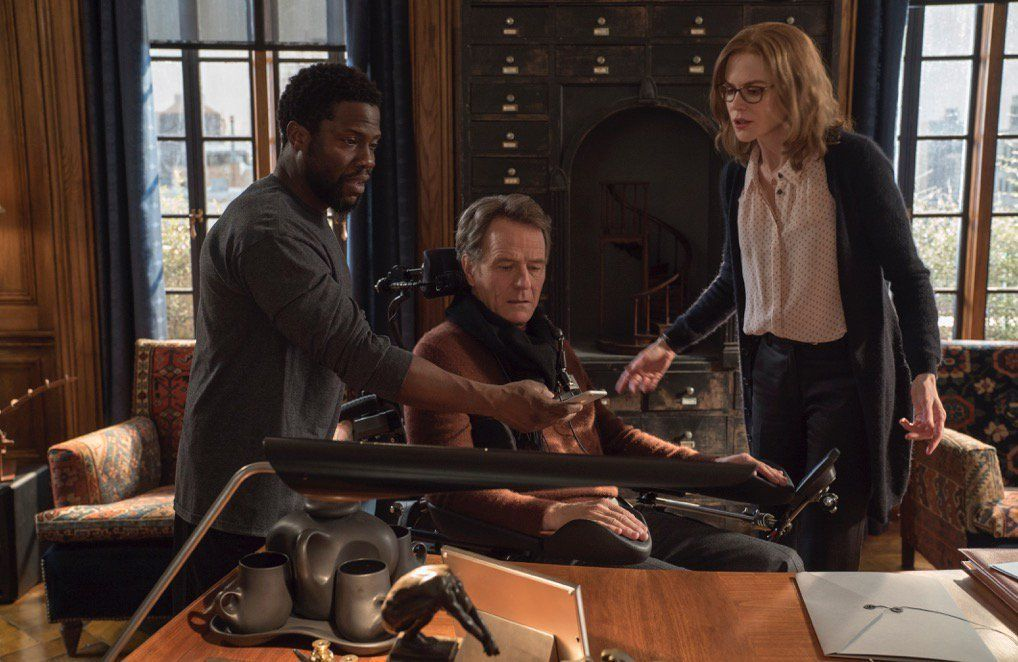 The Upside Movie stars, Kevin hart, Film clips