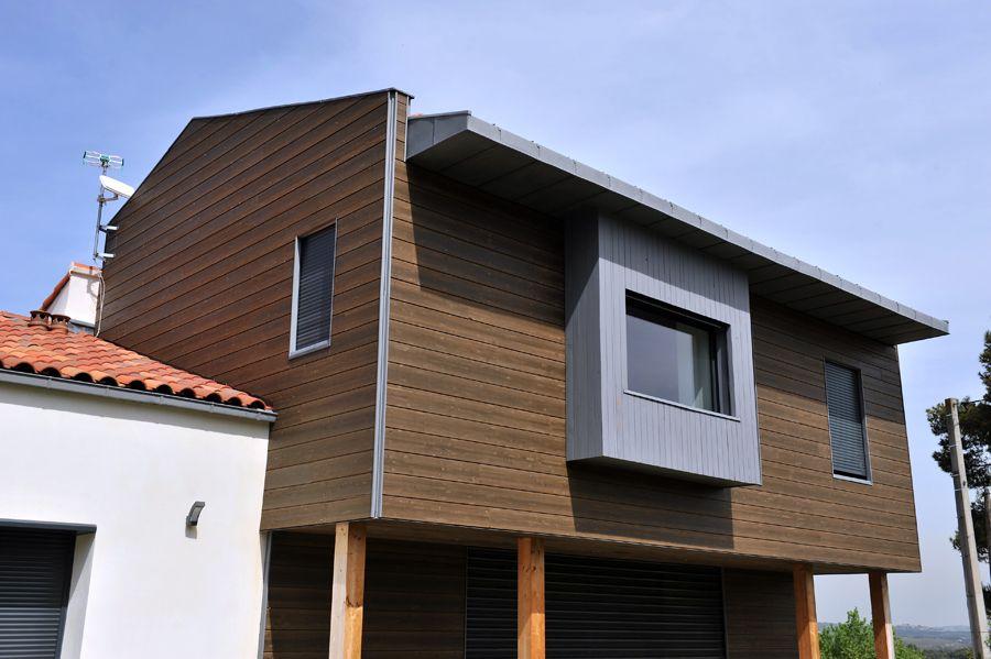 Bardage Largo evolution Douglas lasuré PIVETEAUBOIS #bardage #façade