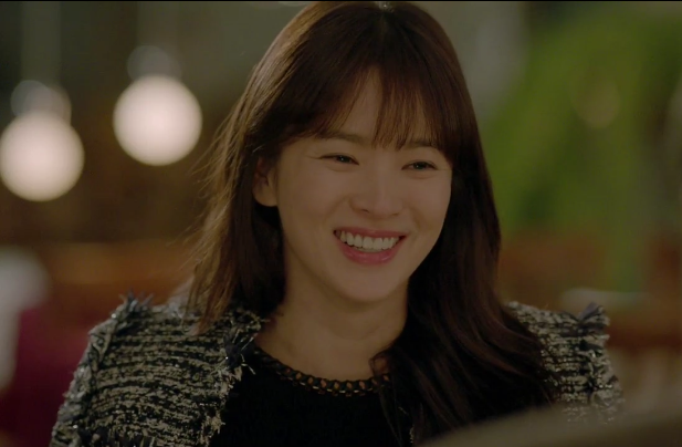 song hye kyo _ tweed