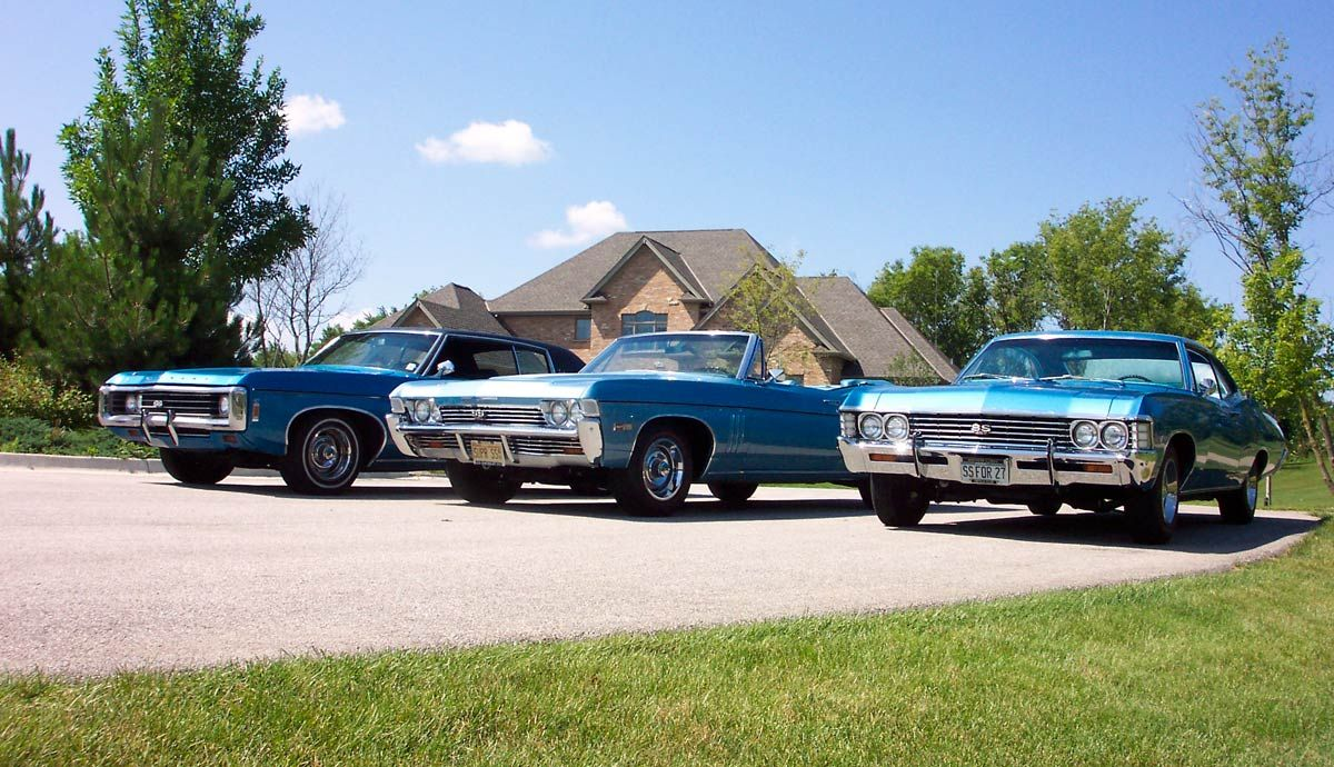 Pin on Impala & Caprice 1965 and up