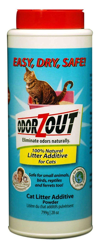 Cat Litter Additive Powder Litter Box Odor Remover 28